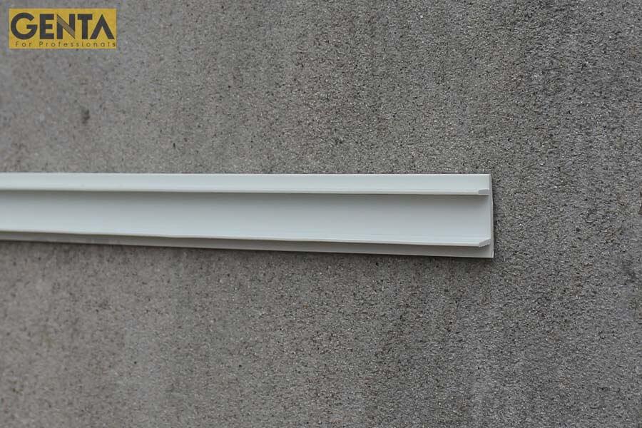 Nẹp chỉ âm tường GL-10 tạo ron âm trang trí cho tường tô trát