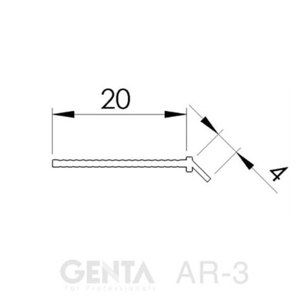 Bản vẽ nẹp AR-3