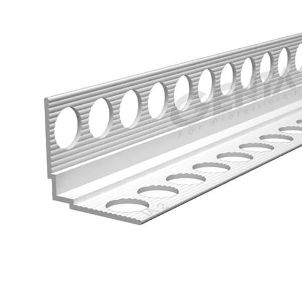 Nẹp V góc thạch cao IA-2, Nhựa trắng