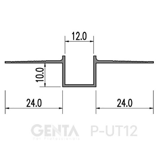 Thông số nẹp P-UT12