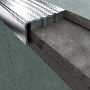 Nẹp nhôm mũi bậc chống trơn SNAP4020