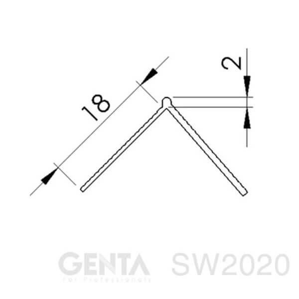 Bản vẽ nẹp SW2020