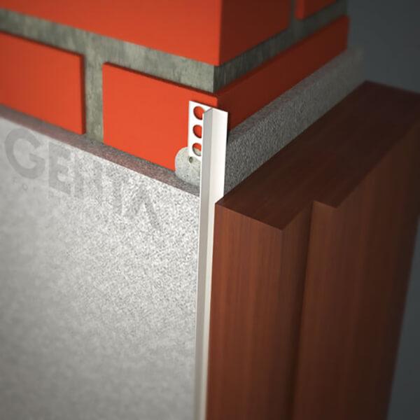 Hình ảnh thi công nẹp nhựa tách khe vật liệu DF-1212