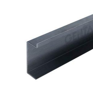 Nẹp len chân tường inox 4cm S-CA40