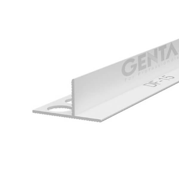 Nẹp nhựa tách khe vật liệu DF-15, trắng