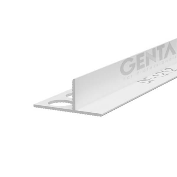 Nẹp nhựa tách khe vật liệu DF-1212, trắng