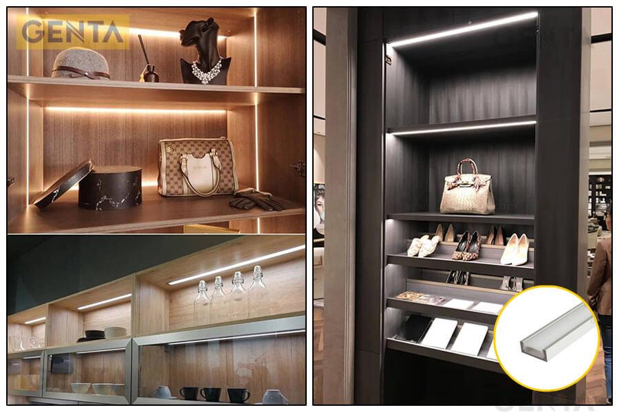 Đèn led thanh nhôm G-1507 được ứng dụng đa dạng trong trang trí nội thất