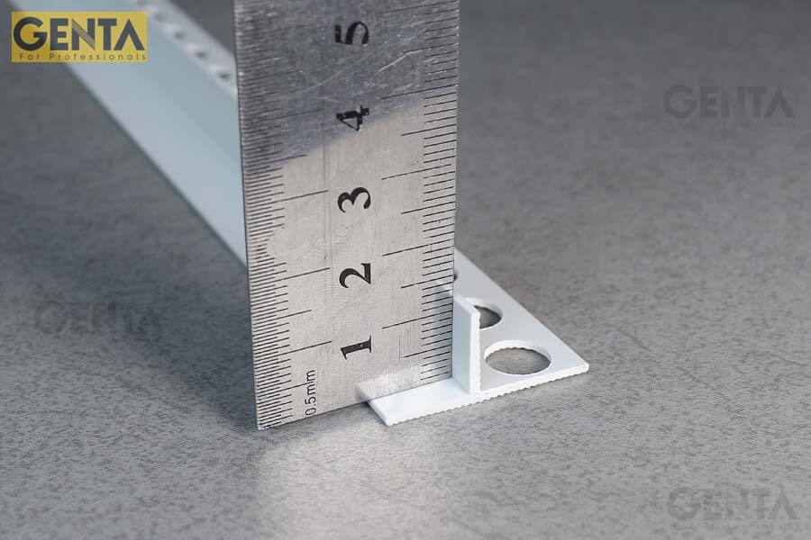 Đo kích thước nẹp len chân tường âm DF-1212