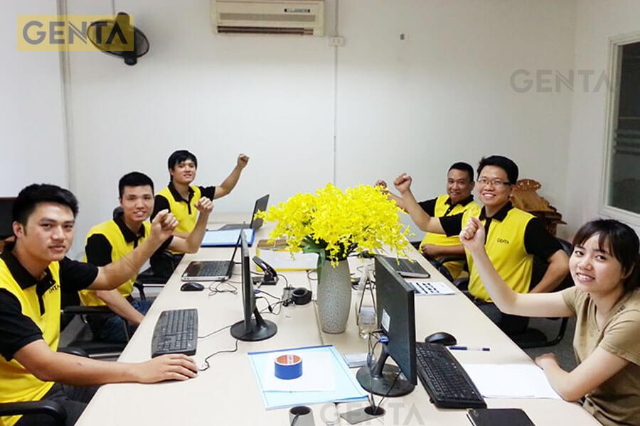 Đội ngũ kỹ thuật của GENTA sẵn sàng tư vấn cho khách hàng 24/7