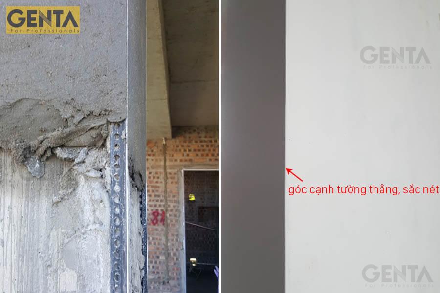 Cạnh tường hoàn thiện sắc nét dùng nẹp góc trát tường SA2-10
