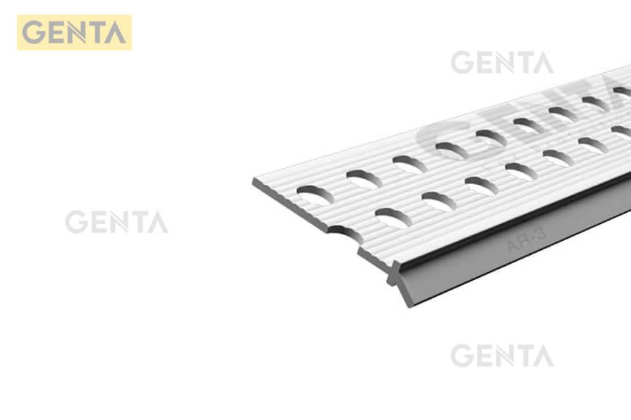 Hình ảnh thực tế nẹp góc tròn thạch cao AR-3 của GENTA