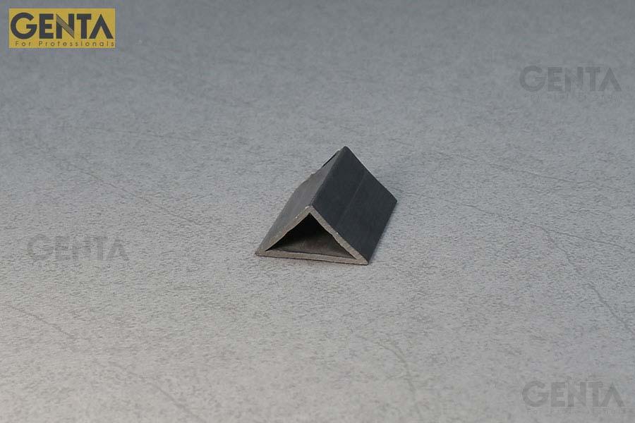 Hình ảnh nẹp nhựa vát góc 30mm G-TA-30 ghi xám