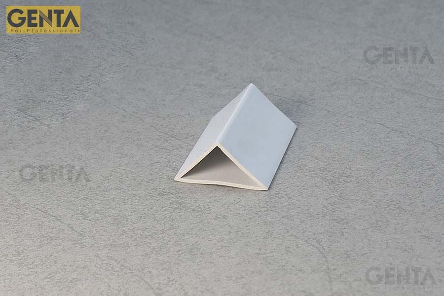 Nẹp nhựa vát góc 35mm TA-35 trắng giúp tạo góc vát 35mm