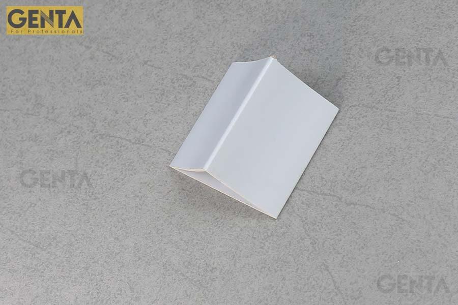 Nẹp vát góc TA-50 trắng tạo bề mặt hoàn thiện cho cạnh bê tông