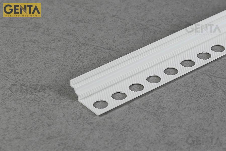 Nẹp trát góc âm I-5 dễ dàng thi công tại các vị trí góc lõm