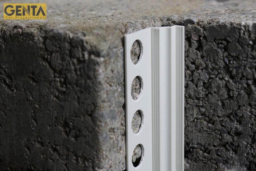Nẹp I-5 chuyên dùng tô trát tại các góc lõm tường