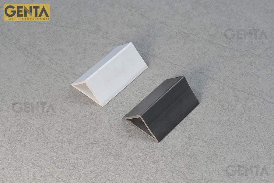 So sánh 2 loại nẹp nhựa vát góc 30mm