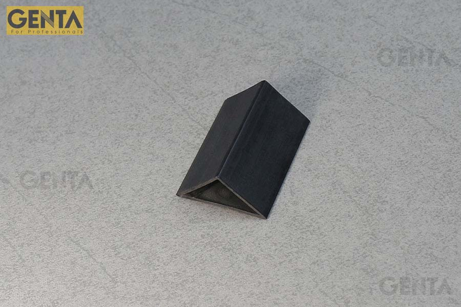 Hình ảnh phối cảnh nẹp nhựa vát góc 35mm G-TA-35 ghi xám