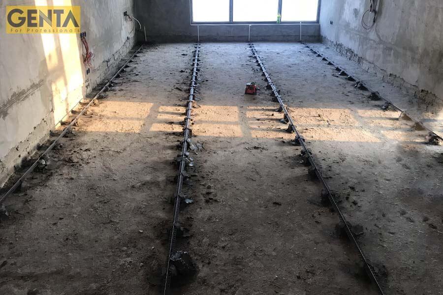 Nẹp mốc trát tường dùng để tạo mốc cán sàn hiệu quả