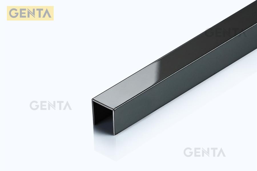 Hình ảnh Nẹp U âm inox 10mm S-UA10 đen bóng