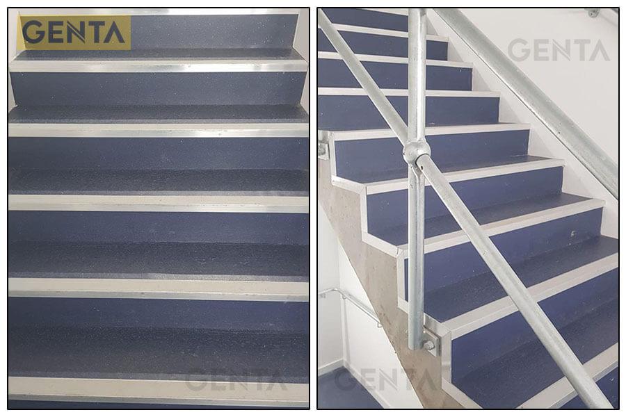 Cầu thang sử dụng nẹp nhôm chống trơn SNAP4020