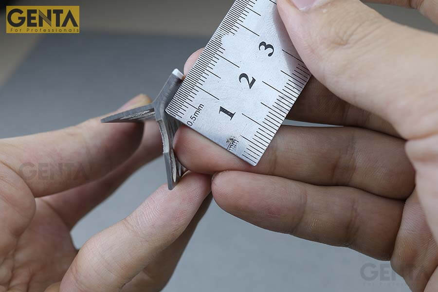 Nẹp SA2-10 mũi nhọn dễ tạo cạnh sắc nét