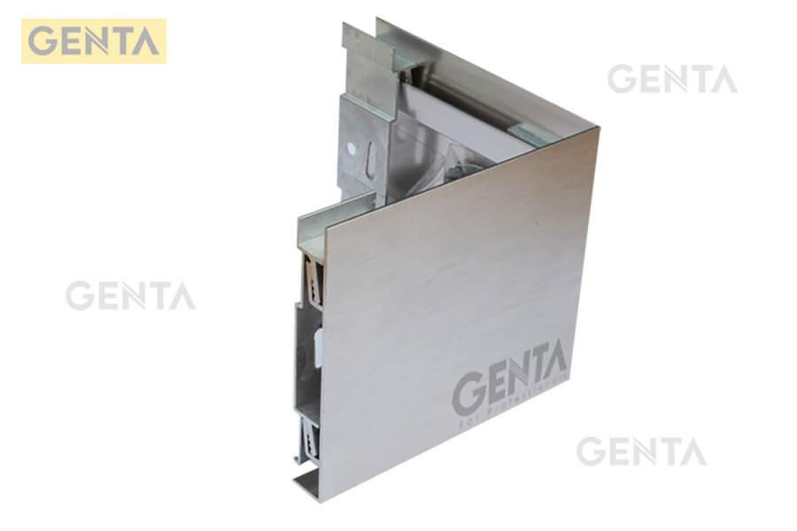 Hình ảnh của nẹp nhôm chân tường SK-SQ70-CNE tại GENTA
