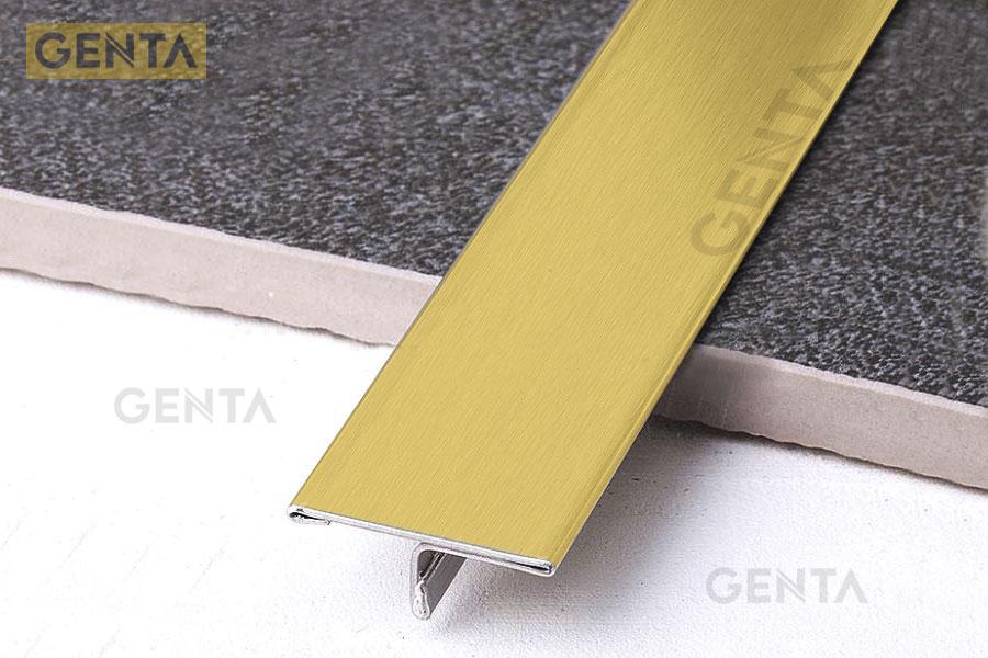 Ưu điểm nẹp S-T25 vàng xước