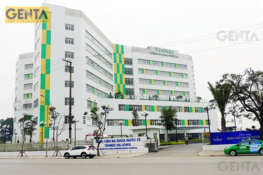 Nẹp trát tường sử dụng cho bệnh viện