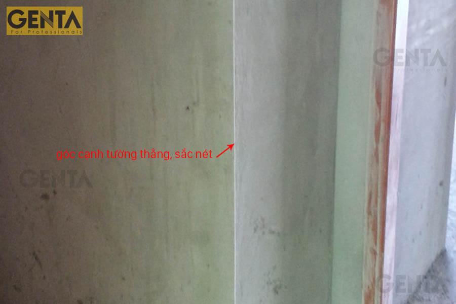Hình ảnh thi công thực tế nẹp AW3-10S