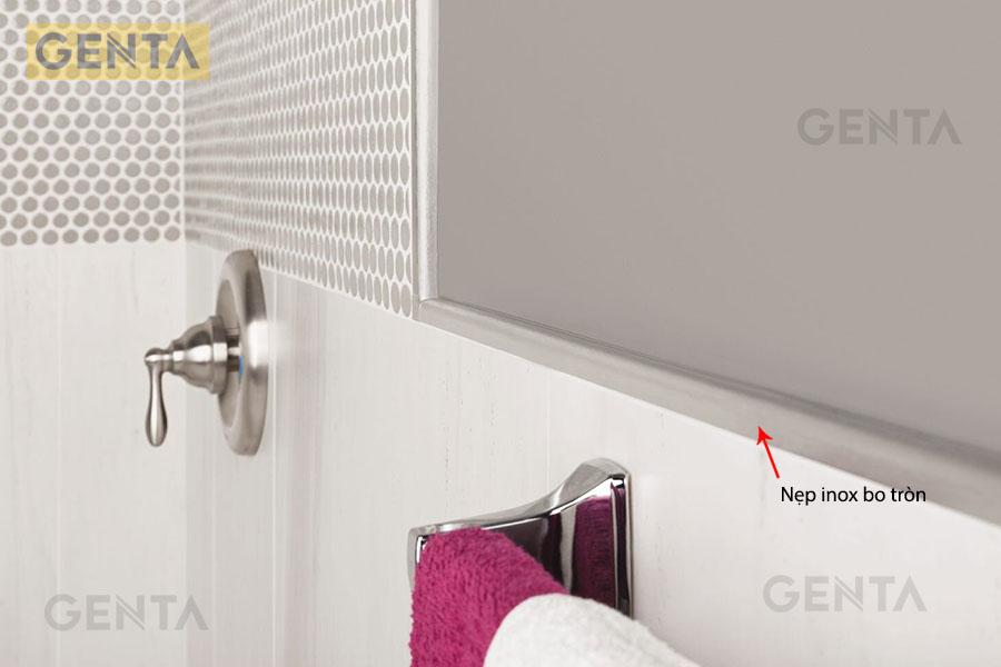 Nẹp inox bo tròn S-GT10 có thể dùng trong phòng tắm