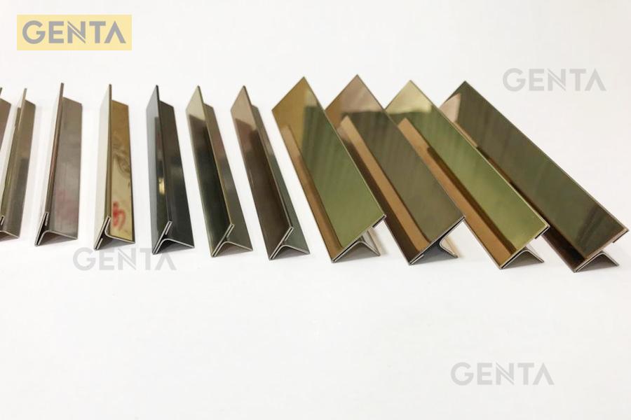 Ưu điểm của nẹp inox T 10mm S-T105 vàng bóng