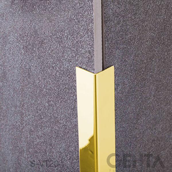 Nẹp S-VT20 vàng bóng mô phỏng