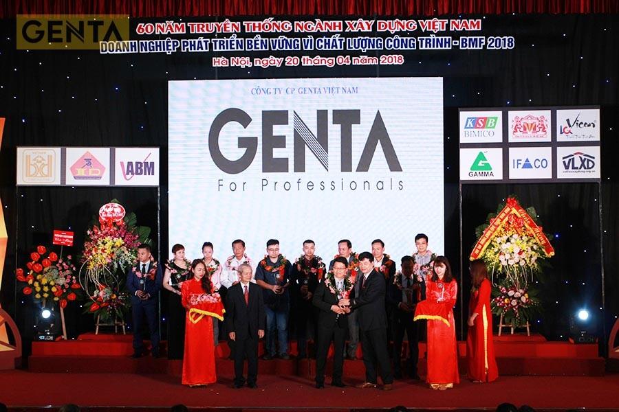 GENTA nhận giải thưởng BMF 2018