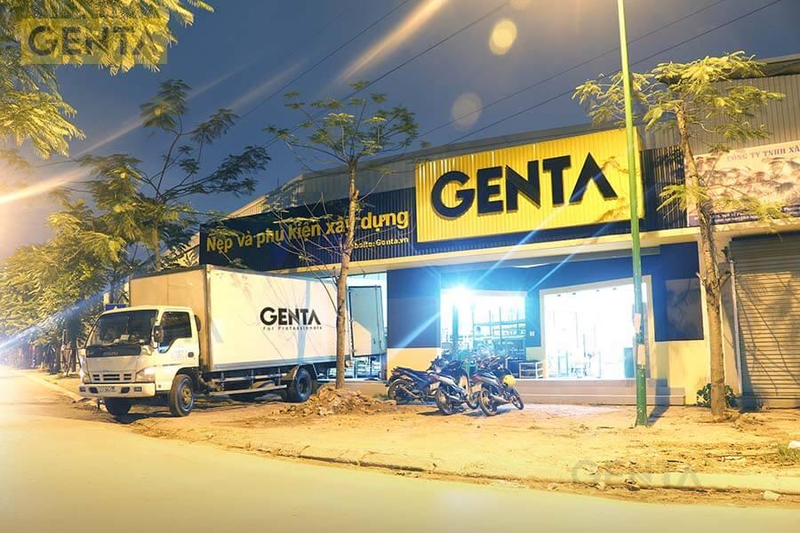 Kho hàng của công ty GENTA tại Hà Nội