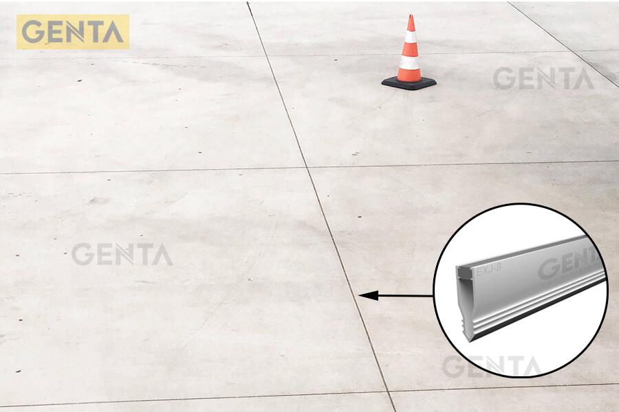 Vị trí sử dụng nẹp khe co giãn sàn bê tông của Genta
