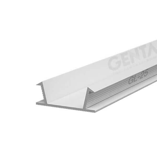 Nẹp chỉ âm tường 2.5cm GL-25(W)