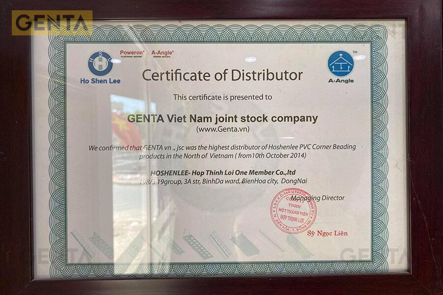 Các sản phẩm của Genta đều được nhập khẩu chính hãng, đầy đủ CO, CQ