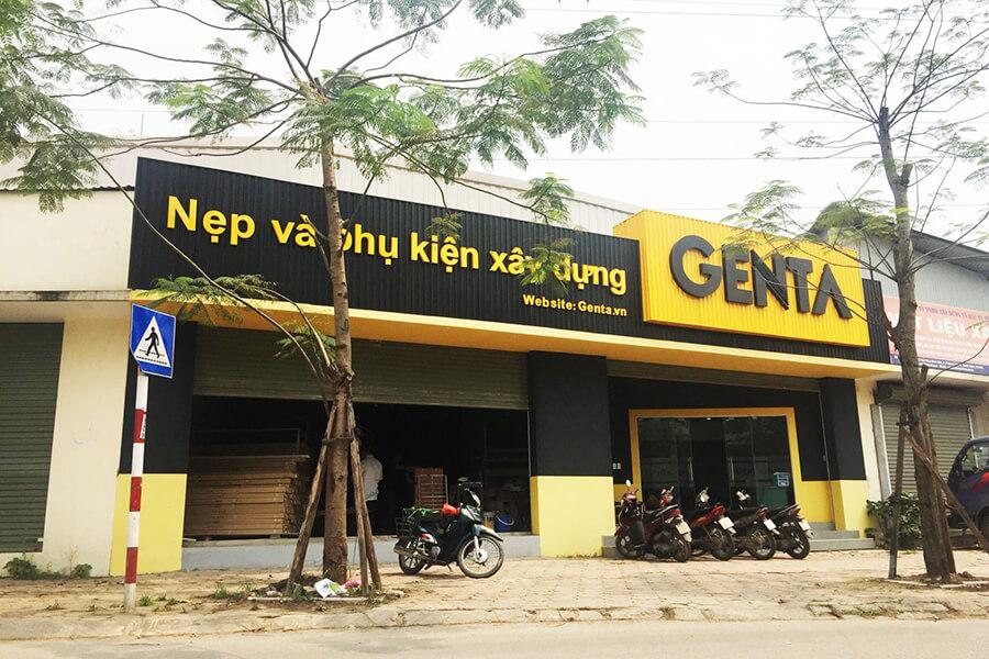 GENTA - địa chỉ phân phối nẹp xây dựng chất lượng
