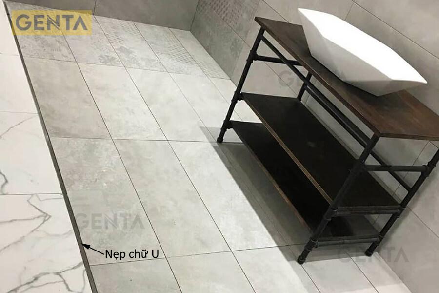 Ứng dụng thực tế của thanh nẹp sàn inox chữ U