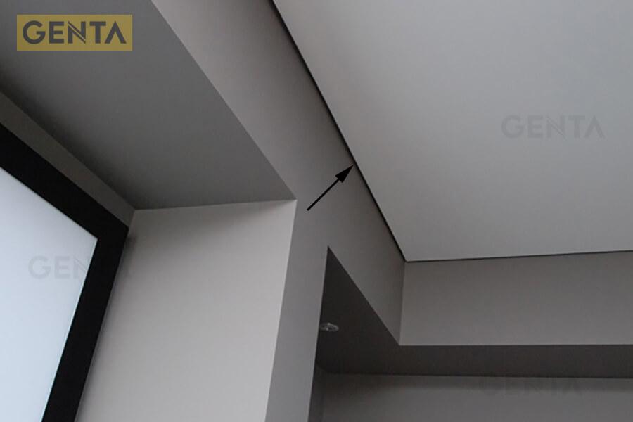 Nẹp trần thạch cao Z10(s) tạo khe bóng đổ trang trí
