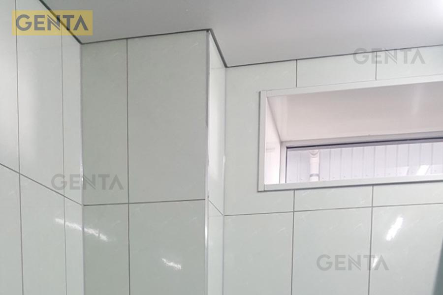 Ứng dụng nẹp góc vuông cho cạnh tường, cột