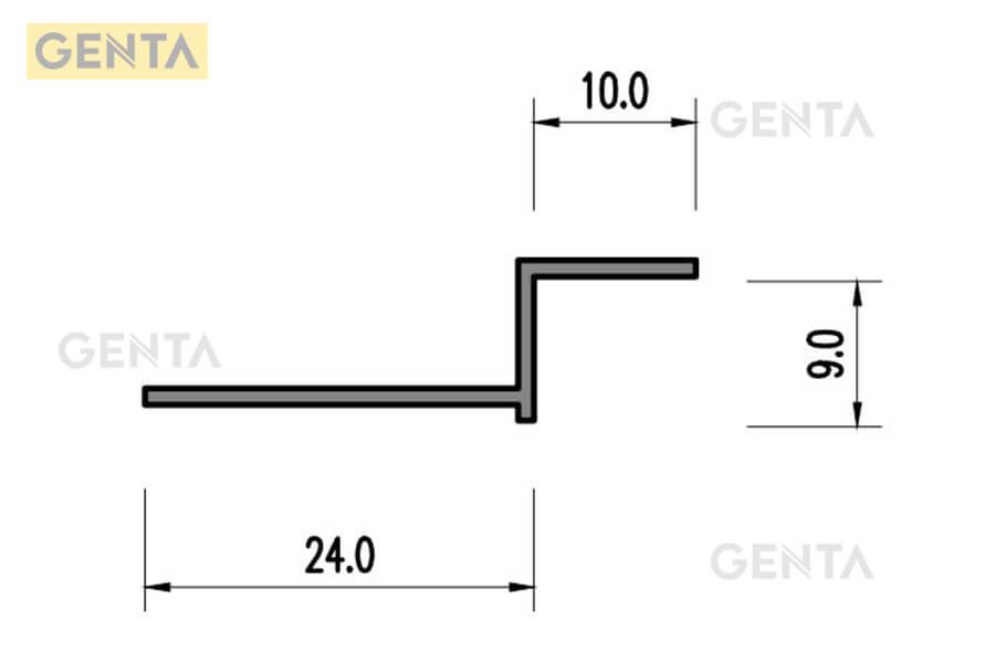 Cấu tạo của nẹp thạch cao Z-10(s)