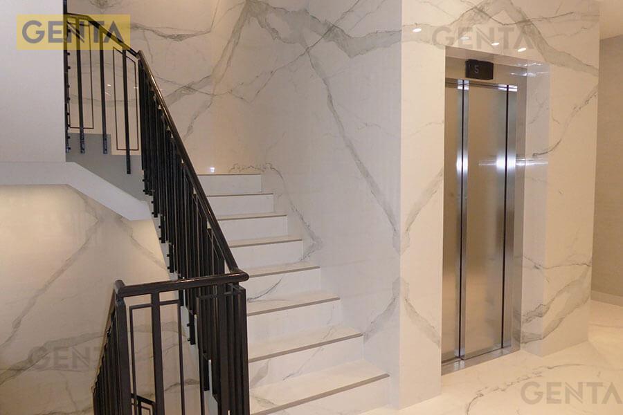 Ứng dụng nẹp chống trơn cầu thang trong nhà cao tầng