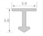 kích thước nẹp nhôm T6