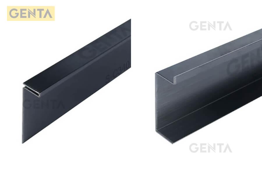 Một số hình ảnh nẹp len chân tường inox 304 do GENTA cung cấp