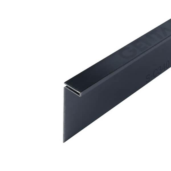 nẹp inox bo cạnh S-C340 đen mờ