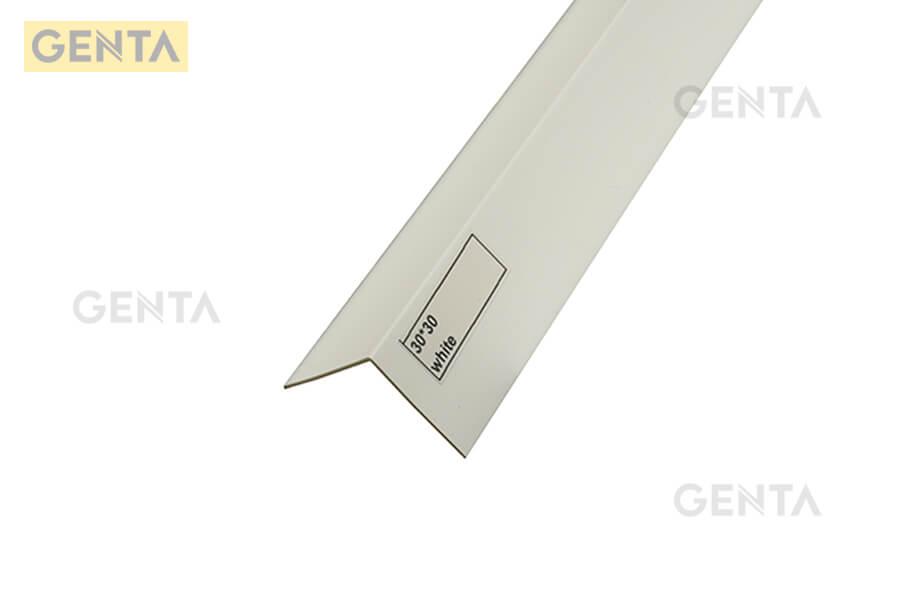 Hình ảnh thực tế của nẹp nhựa chữ V-30 được cung cấp bởi GENTA