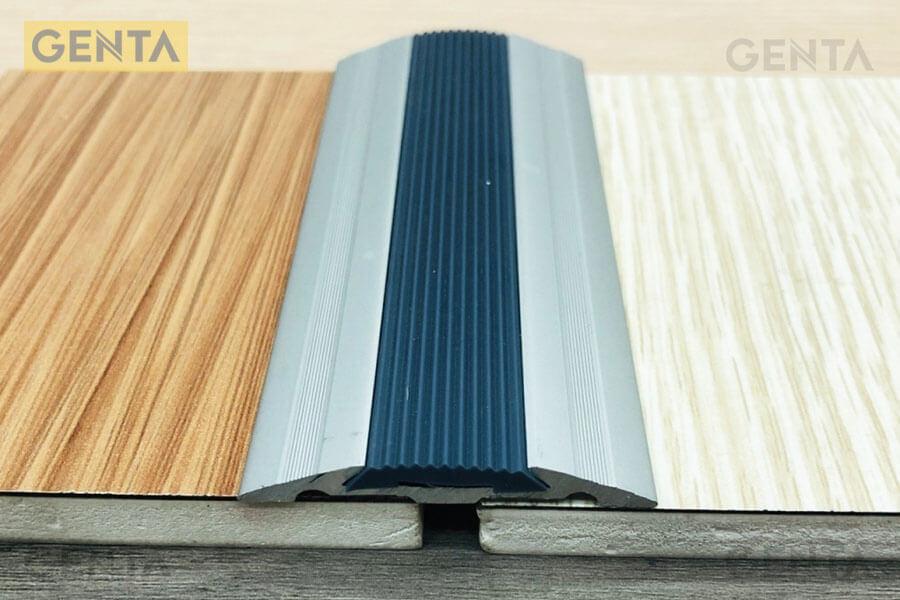 Nẹp nối sàn gỗ nhôm NCP8.0 giúp che khe nối và chống trơn trượt