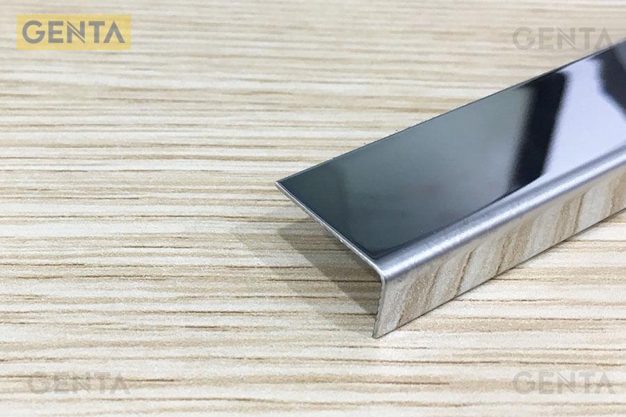 Nẹp sàn gỗ chữ L S-L2010 màu inox bóng